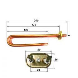 Heating element Water heater Hajdu 1200W /K type