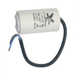 Capacitor CSC 10,0 uF with cable