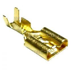 Cable lug 6,3mm