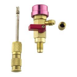 Needle valve depressor digger