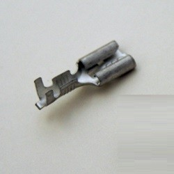Cable lug 6,3mm thermostable