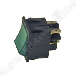Built-in universal switch, 22 x 30mm (green)